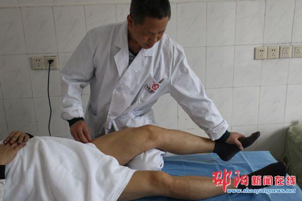 采用浮针疗法为患者治疗-邵阳汇恩医院引进浮针疗法 疗效显著