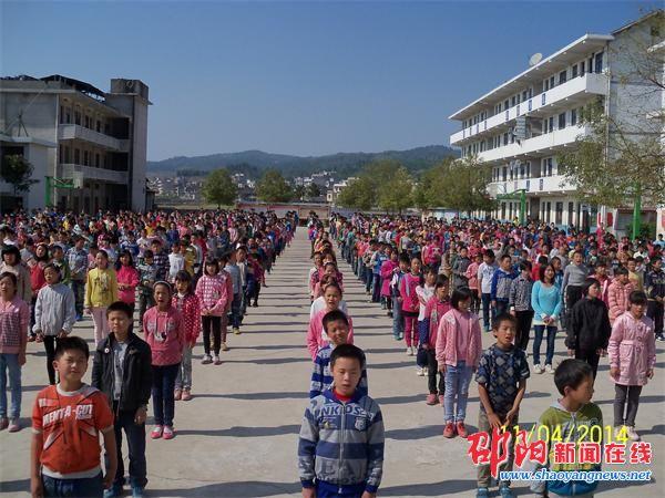 罗白九年义务制学校以校歌助推校园文化建设